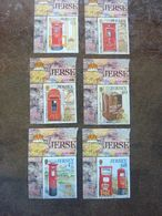2003  Pillar Box    SG = 1067 / 1072   MNH ** - Jersey