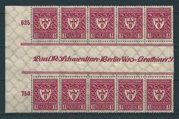 MiNr. 199 ZS ** Fünferstreifen - Unused Stamps