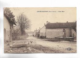 70 - COURCHATON ( Haute-Saône ) - Une Rue - Francia