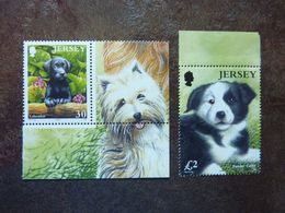 2003  Dogs    SG =  1113 And 1117    MNH ** - Jersey