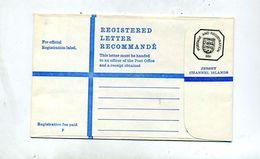 Lettre Pochette Entiere Recommandée 68 P Armoirie - Jersey
