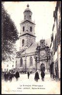 LA BRETAGNE PITTORESQUE - ** AURAY - EGLISE ST GILDAS ** édition Rare ! 1906 > Paris - Auray