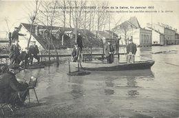 2020 - 07 - VAL DE MARNE - 94 - VILLENEUVE SAINT GEORGES - Crue De La Seine - Le Grand Mat - Villeneuve Saint Georges