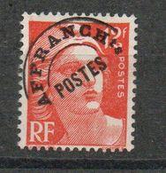 Préo N° 103A - Marianne De Gandon 12f Orange Oblitéré - 1893-1947