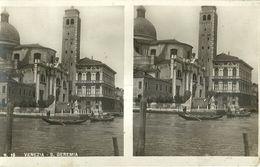 """8618 """" VENEZIA-S. GEREMIA """"ANIMATA- CARTOLINA POSTALE (8,5 X 13,5) ORIGINALE NON SPEDITA - Cartoline Stereoscopiche"""