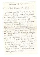 Lettre Manuscrite 1978 Simone Pierre Toret Annecy Cortat Villaz Strasbourg Malakoff - Manuscrits