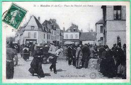 31 - HESDIN - PLACE DU MARCHE AUX PORCS - Hesdin