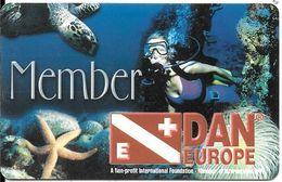CARTE-ITALIE-ADHERANT-2002-ASSURANCE VOYAGE-DAN TRAVEL ASSISTANCE--TBE-RARE - Italie