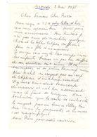 Lettre Manuscrite 1978 Simone Pierre Toret Villaz Lautrez - Manuscrits