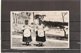 Ecuador COSTUMES NATIVE AMERICAN INDIAN WOMEN POSTCARD - Ecuador
