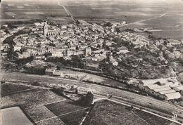 Azille (Aude) - Vue Générale Aérienne - France