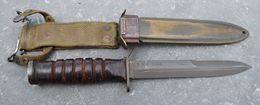 Poignard - Couteau De Combat Américain USM3 CASE - 40/45 - Armes Blanches