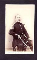 CDV PENABERT ( 1825 - 1903 ) :  Beau Portrait De Militaire  Régiment à Identifier  Albumen  CIRCA 1860 - Ancianas (antes De 1900)