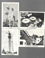 X114 CARTES KREMA - EXPOSITION ARTS ET TECHNIQUES 1937 - PARC DES ATTRACTIONS - ROCKET SPEEDWAY - SCENIC RAILWAY - TOUR - Süsswaren