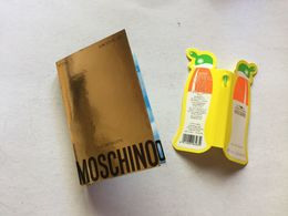 MOSCHINO  : 2 Tubes échantillons Sur Cartes - Perfume Samples (testers)