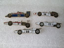 PIN'S    LOT  5  FORMULE 1 HONDA - Honda