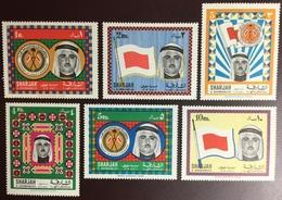 Sharjah 1968 Shaikh Khalid High Value Definitives MNH - Sharjah