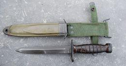 Couteau - Baïonnette USM4 - PAL - 40/45 - Armes Blanches