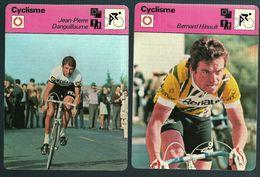 GF239 - FICHES EDITION RENCONTRE LAUSANNE - JEAN-PIERRE DANGUILLAUME BERNARD HINAULT - Cyclisme