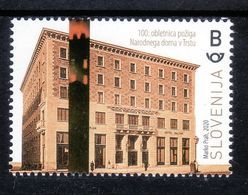 3333 Slowenien Slovenia 2020 ** MNH 100 Years Centenary Of The Burning Of The Narodni Dom In Trieste Italy - Slovenia