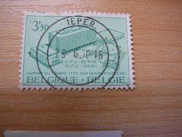 (07.07) BELGIE 1970 Nr 1529 Met Mooie Afstempeling IEPER - Belgique