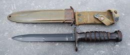 Couteau - Baïonnette USM4 - IMPERIAL - 40/45 - Armes Blanches