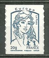 FRANCE MNH ** Adhésif Autocollant 852 Marianne DeCiappa Et Kavena Marianne Et L'Europe - Frankreich