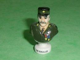 Fèves / Personnages : Général De Gaulle , Buste    TB114K - Personajes