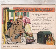 RICQLES / MONSIEUR DUMOLLET - Trade Cards