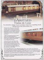 Catalogue DARSTAED TRAINS DE LUXE 2007 Edwardian Era Non Corridor Suburban Coaches - Anglais