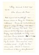 Lettre Manuscrite 1978 Simone Pierre Toret Villaz Malakoff Conlat Annecy - Manuscrits