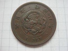 Japan , 1 Sen 1875 - Giappone