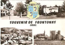 FRONTONAS . MULTI-VUES . CPM - Autres Communes