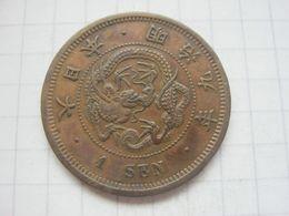 Japan , 1 Sen 1876 - Japan