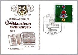 Competicion Internacional De ACORDEON - ACCORDION. Klingenthal 1990 - Musica
