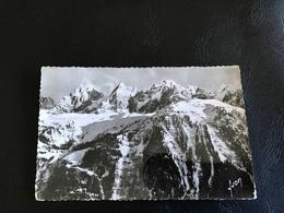 CHAMONIX MONT BLANC Les Aiguilles De Chamonix - 1958 Timbrée - Chamonix-Mont-Blanc