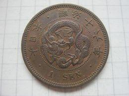 Japan , 1 Sen 1883 - Giappone