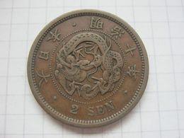 Japan , 2 Sen 1877 - Giappone