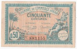 Chambres De Commerce D'ORAN 50 Centimes 25 Mars 1921 N° 883155 - Algerien
