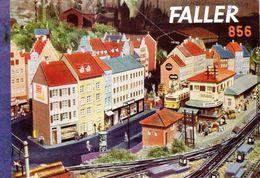 Catalogue FALLER 1956 Bahnhöfe, Tal & Bergstationen, Bäume, Flugzeugmodelle - Libros Y Revistas