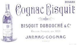 Buvard Publicité Cognac Bisquit Jarnac - Liquore & Birra