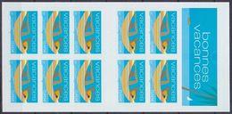 Carnet Neuf ** N° BC3494A(Yvert) France 2002 - Vacances - Booklets
