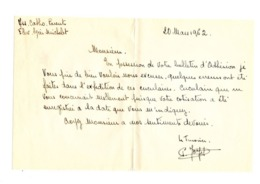Lettre Manuscrite 1962 Lycée Michelet Catho Parents Admission Bulletin Adhesion - Manuscrits