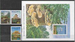 1986 SAINT THOMAS ET PRINCE 835-37+ BF 47** Champignons - Sao Tome And Principe