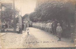 AESCHI-BEI-SPIEZ-CARTE-PHOTOMILITAIRE- LE GENERALE PAU - LE 10 JUILLET 1927 - BE Berne