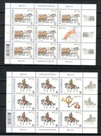 3333 Slowenien Slovenia 2020 MNH Mini Shets KB Europa CEPT Ancient Postal Routes Historische Postwege Animal Horse Pferd - Slovenia