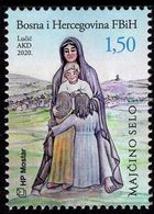 Bosnia & Herzegovina - Mostar - 2020 - Medugorje 2020 - Maicino Selo - Mint Stamp - Bosnie-Herzegovine