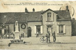 89 YONNE LES CLERIMOIS MAIRIE ECOLES ANIMATION JOLI PLAN A VOIR - Francia