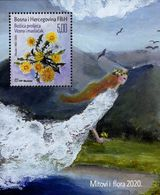 Bosnia & Herzegovina - Mostar - 2020 - Myths And Flora - Spring And Dandelion - Mint Souvenir Sheet - Bosnie-Herzegovine