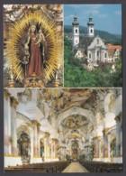 """Germany - Zwiefalten (BW) / Münster - Klosterkirche """"Unserer Lieben Frau"""" - 3 Ansichten (4) - Iglesias Y Catedrales"""